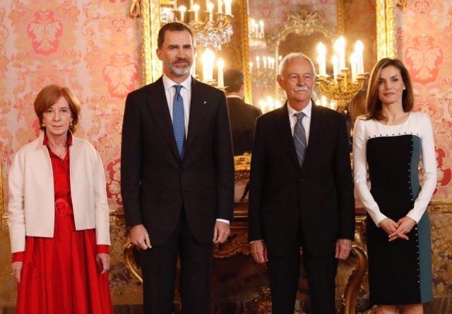 Recepción Reyes Premio Cervantes