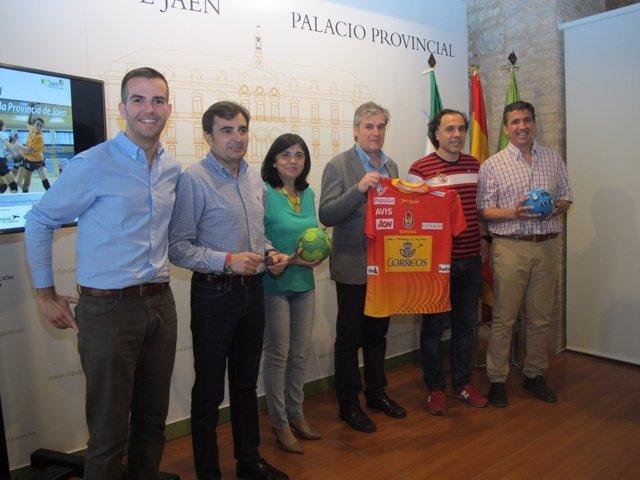 Presentación del Día del Balonmano Femenino de la provincia de Jaén.