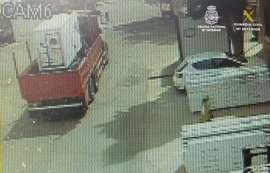 Desmantelada una organización especializada en sustraer maquinaria pesada en Corredor del Henares