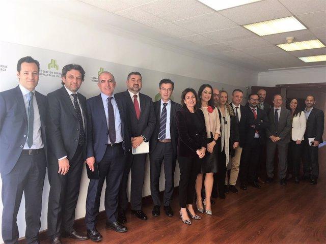 Reunión entre FEHM y entidades bancarias
