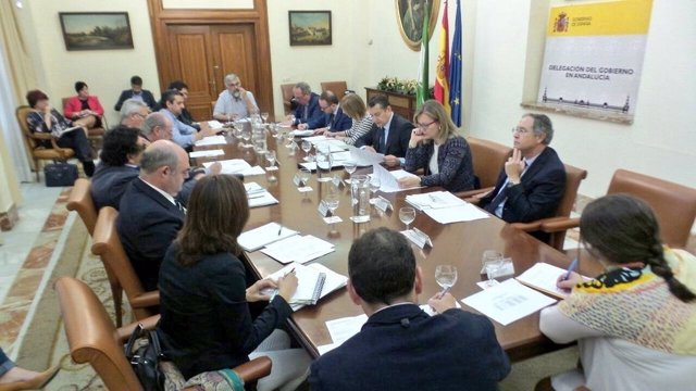 Reunión de reparto de fondos de Programa de Fomento del Empleo Agrario para 2017