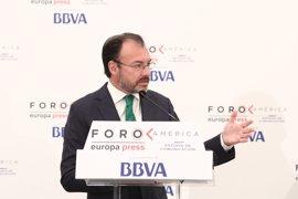 "Videgaray asegura que ""México no será indiferente ante la situación de Venezuela"""