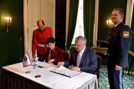 La Ertzaintza y la Policía de Baviera firman un acuerdo para desarrollar e intensificar la cooperación policial