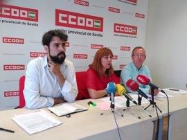 """CCOO-Sevilla avisa del """"uso como rehenes"""" de los empleados de los veladores"""