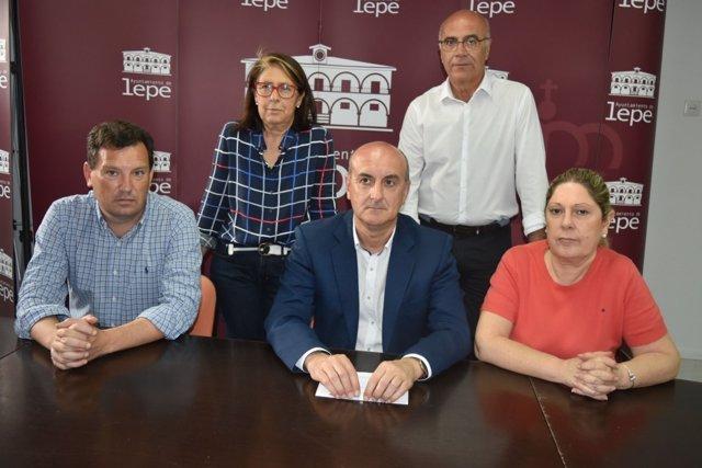 Equipo de gobierno del Ayuntamiento de Lepe.