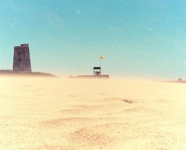 Aviso naranja este jueves en Almería, Cádiz, Granada y Málaga por fenómenos costeros y viento