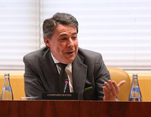 Ignacio González comparece en la comisión de investigación sobre la corrupción