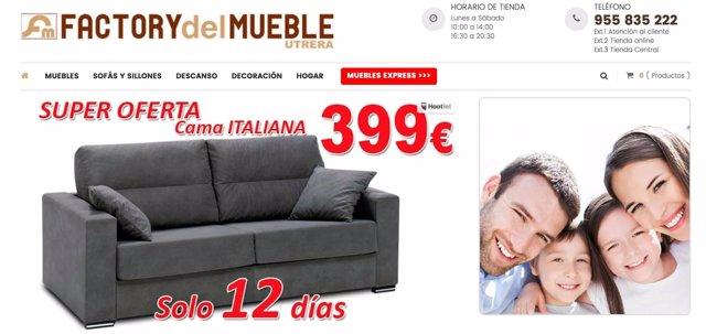 Comunicado descubre el factory del mueble en utrera for Factory del mueble azuaga
