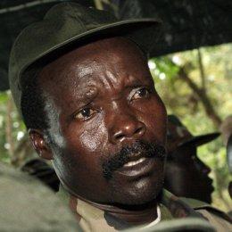 El comandante del Ejército de Resistencia del Señor (LRA), Joseph Kony, Uganda