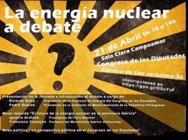 Los principales partidos debaten el viernes en el Congreso el futuro de la energía nuclear