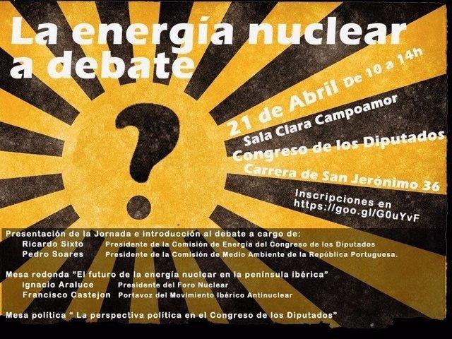 Programa jornadas sobre nucleares en el Congreso