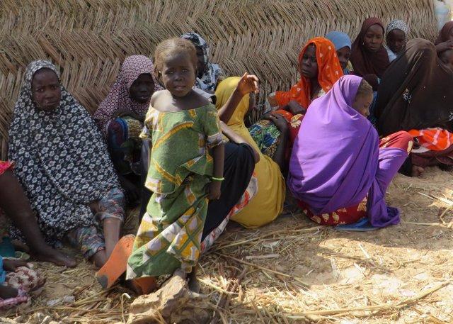 Desplazados en Nigeria
