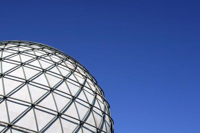 La esfera bioclimática de la Expos'92 de Sevilla