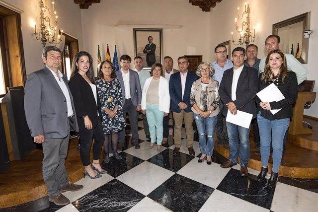 La Diputación de Cáceres firma convenios con las DOP e IGP