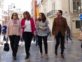 La carrera de los avales en el PSOE arranca con Susana Díaz tratando de ganar una primera batalla