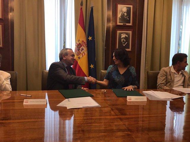 Acuerdo Fundación Isabel Gemio y CSIC