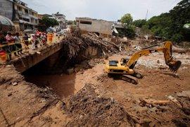 Se eleva a 11 el número de muertos como consecuencia de las fuertes lluvias en Manizales (Colombia)