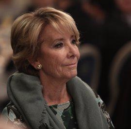 Esperanza Aguirre acude mañana como testigo al juicio por la primera etapa de Gürtel