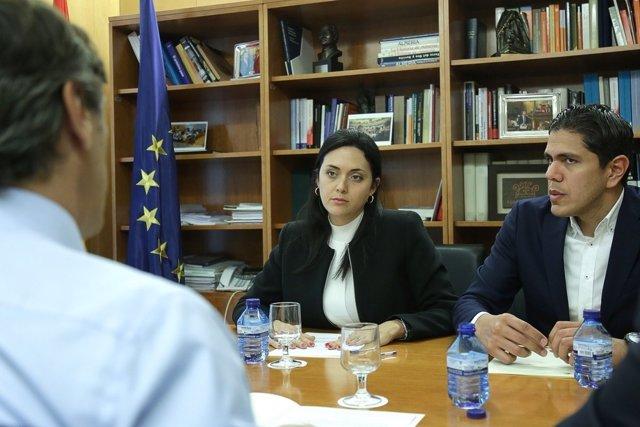 Reunión del GPP con esposa de Yon Goicoechea