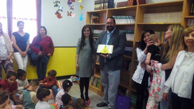 La Junta inaugura la nueva biblioteca del colegio San José