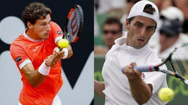 Pablo Carreño y Albert Ramos en el torneo de Río
