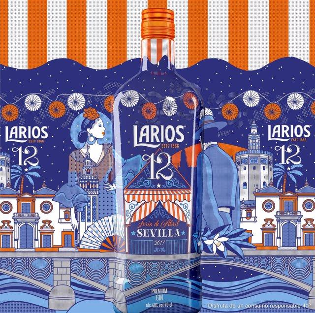 Edición especial de Larios 12 para la Feria de Abril