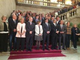 Puigdemont dice que el Estado trata de inhabilitar a un pueblo yendo contra Forcadell
