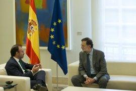 Rajoy aborda la relaciones bilaterales entre España y México con su secretario de Relaciones Exteriores