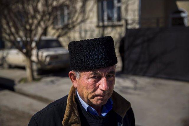 Mustafá Asaba, líder tártaro de Crimea