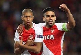 Mbappé y Falcao estiran el sueño del Mónaco