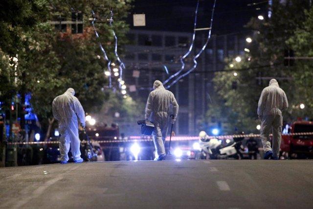 Explota una bomba en la sede de un banco en el centro de Atenas