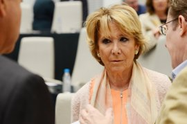 """Aguirre sobre si dimite: """"En este momento no. Ya lo hice de la Presidencia del PP de Madrid sin tener culpa"""""""