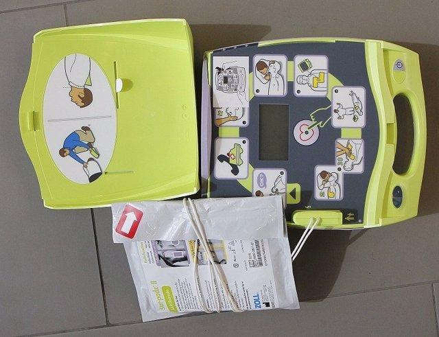 Desfribrilador,  portatil,