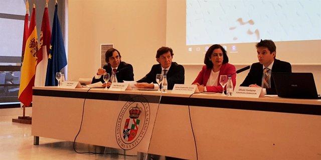 Joao Breda, José Ramón Lete, Fátima Guadamillas y Olivier Fontaine