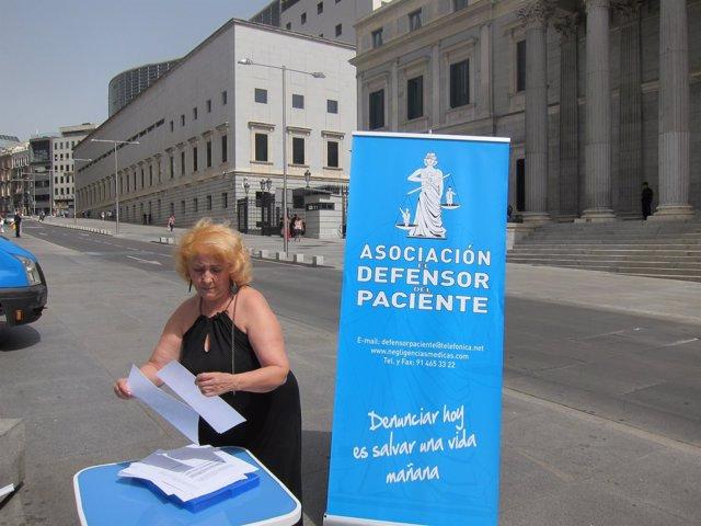 Carmen Flores, Presidenta Asociación Defensor Del Paciente