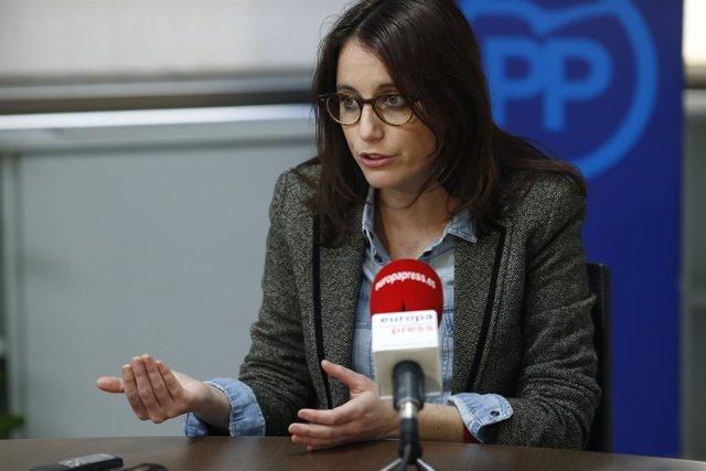 Entrevista de Europa Press con Andrea Levy
