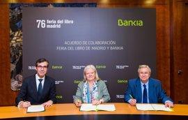 Bankia patrocinará la Feria del Libro de Madrid que se celebrará a partir del 26 de mayo