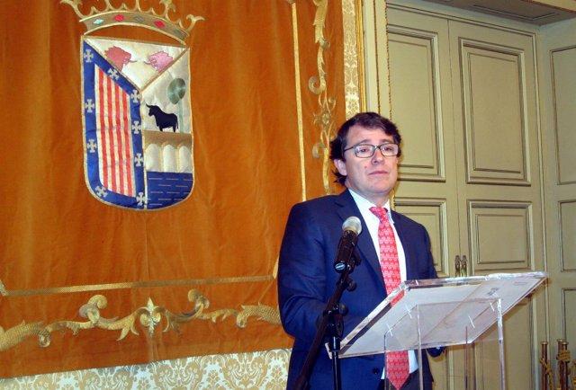 Fernández Mañueco en Salamanca.