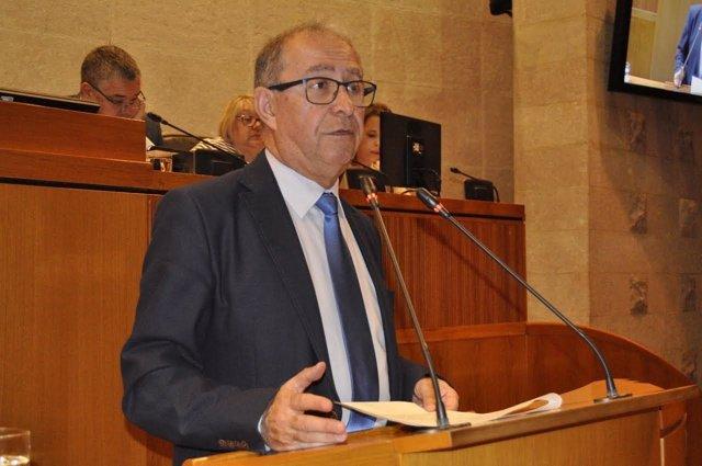 El consejero de Hacienda y Administración Pública, Fernando Gimeno.