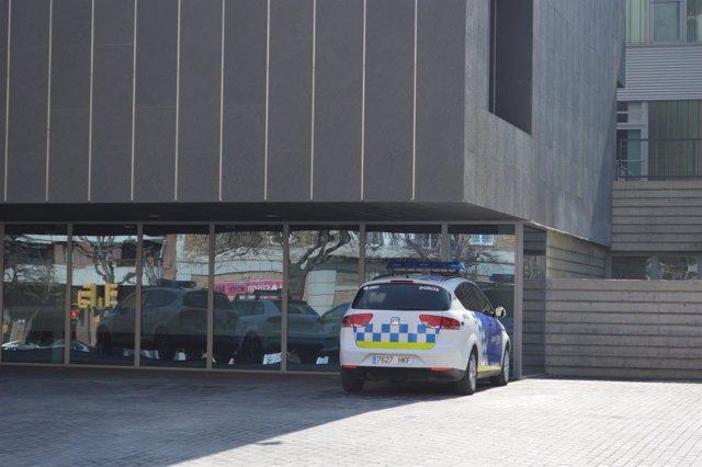 Coche de la policía local de Lleida