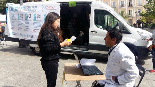 Campaña de REDER sobre exclusión sanitaria