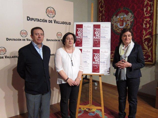 Presentación de las Jornadas Comuneras de Torrelobatón (Valladolid)