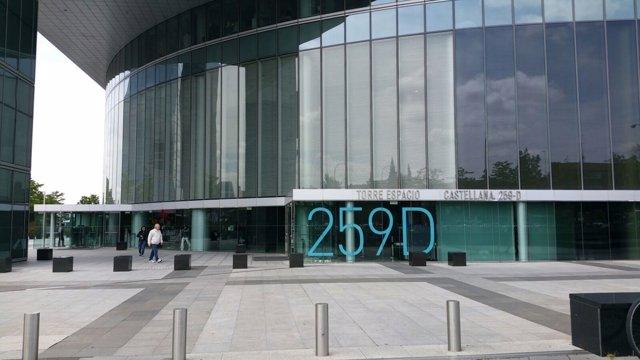 Edificio donde se encuentra la sede de OHL registrada en la operación Lezo