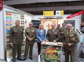 El Estado defiende la presencia del Ejército en la Feria de Formación Profesional y Trabajo