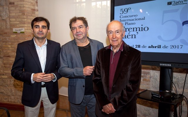 Presentación del concierto inaugural del Premio Jaén de Piano.