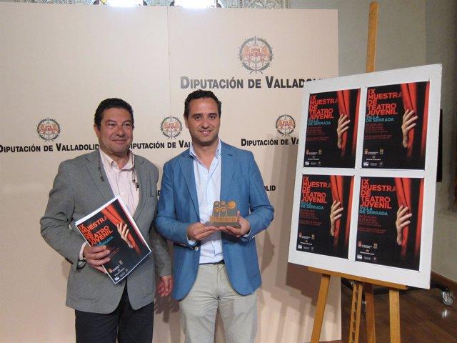 Presentación de la IX Muestra de Teatro de Serrada (Valladolid)