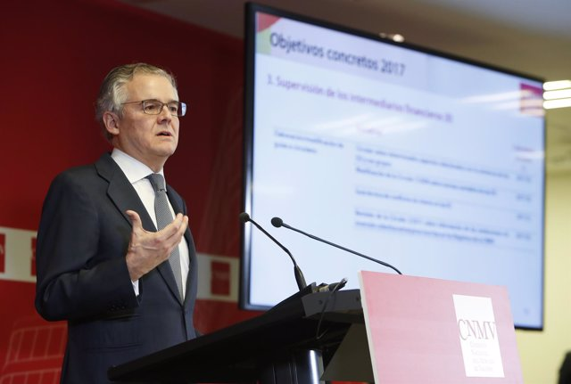 El presidente de la CNMV, Sebastián Albella, presenta el Plan de Actividades