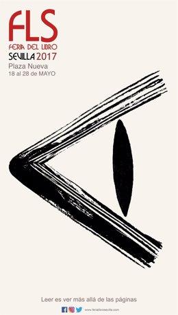 Cartel de la Feria del Libro de Sevilla 2017