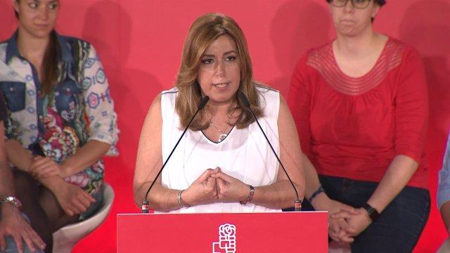 """Díaz quiere liderar el PSOE para que no """"imite a nadie"""""""