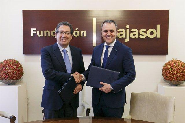 Fundación Cajasol y Fundación ARO mantienen su acuerdo